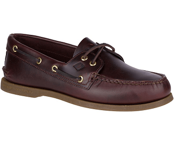Sperry Topsider Boat Shoes - A/O Amaretto - Mens
