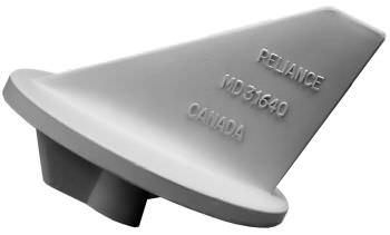 Mercruiser Merc Alpha One Lower Trim Tab Fin Aluminum Anode 31640A Mil-Spec New