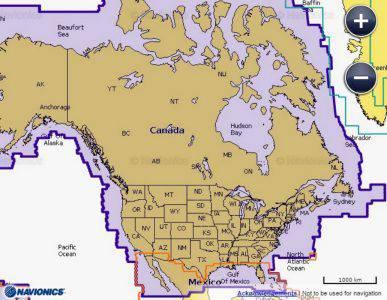Marine and Boat Navionics in Canada