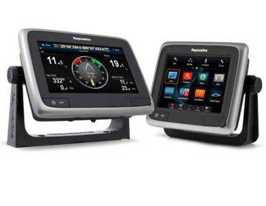 Raymarine a77 7 in. Display with Built-in Fishfinder WiFi & Navionics+ Charts E70167-NAG