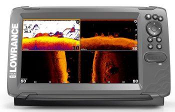 Lowrance Hook2-9 with TripleShot Transducer and Navionics Nav+ Charts  000-14302-001