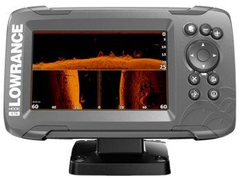 Lowrance HOOK²-7 with SplitShot Transducer and US & Canada Navionics Nav+  Maps 000-14290-001