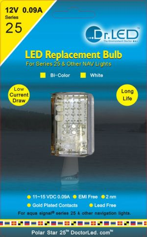 Dr Led Polar Star 25 Bi Colour For Aqua Signal 25