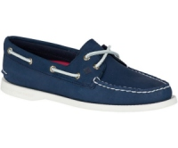 Sperry Top-Sider Authentic Original 2-Eye Boat Shoe Navy - Womens