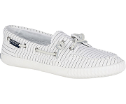 Sperry Top-Sider Sayel Away Pin Stripe - White - Womens